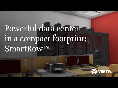 Powerful data center in a compact footprint: SmartRow™