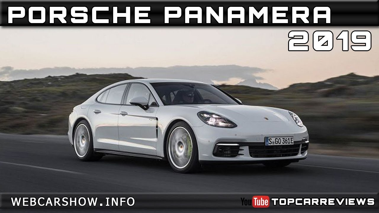2019 PORSCHE PANAMERA Review Rendered Price Specs Release Date