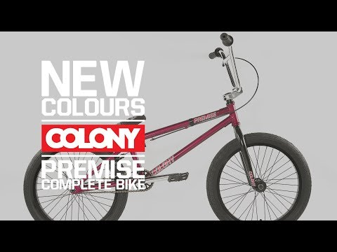 With the universal 20.75″ top tube and the full CrMo frame, forks and bars the Colony Premise is a great all round BMX. Click here for more info: ...