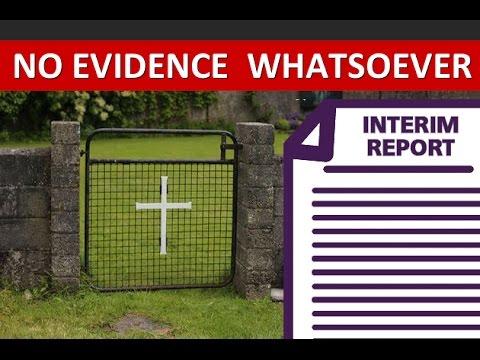 Tuam Interim Report Finds ZERO Evidence Of Wrong Doing
