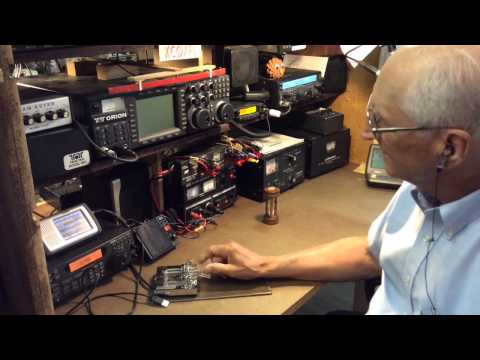 Ham Radio Shack Tour And Interview - KCØKFL Forrest, Bricelyn, Minnesota
