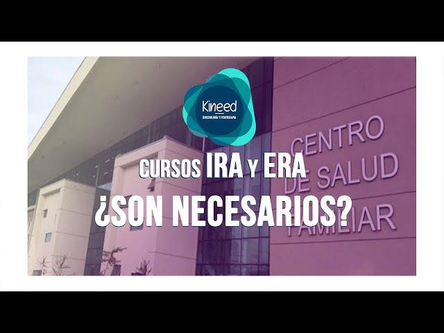 ▷ Cursos IRA y ERA ¿Son necesarios realmente? 🤷🏼♀️ 🤷🏼♂️
