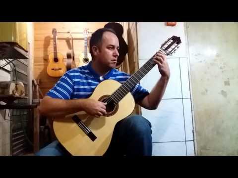 Violão Luthier MarcianoModelo Estudante iniciantes tocando o Violonista Luciano Godoi