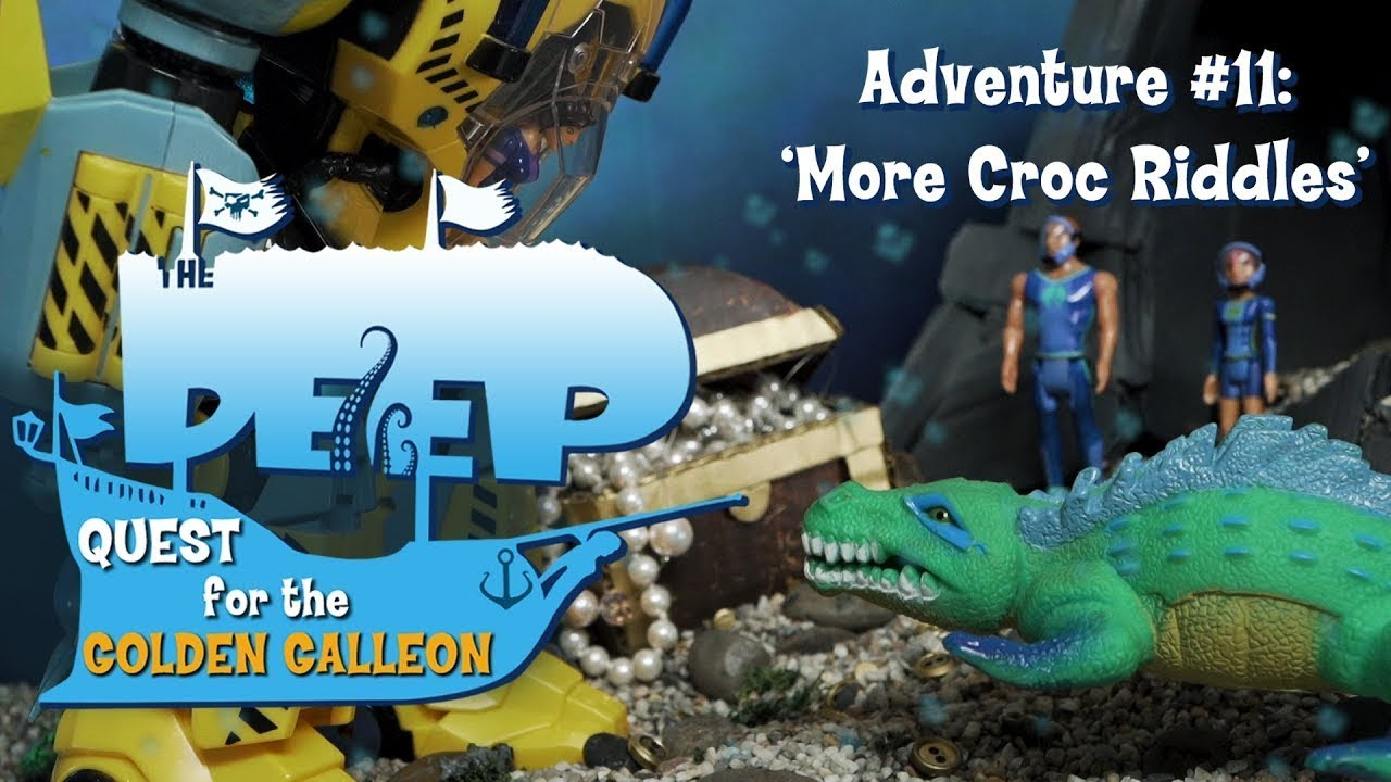 The Deep | Toy Play Adventure: More Croc Riddles | Sea Adventures | Wildbrain Cartoons