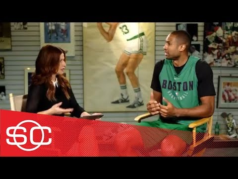 Al Horford On LeBron James, Young Celtics And Brad Stevens | SportsCenter | ESPN