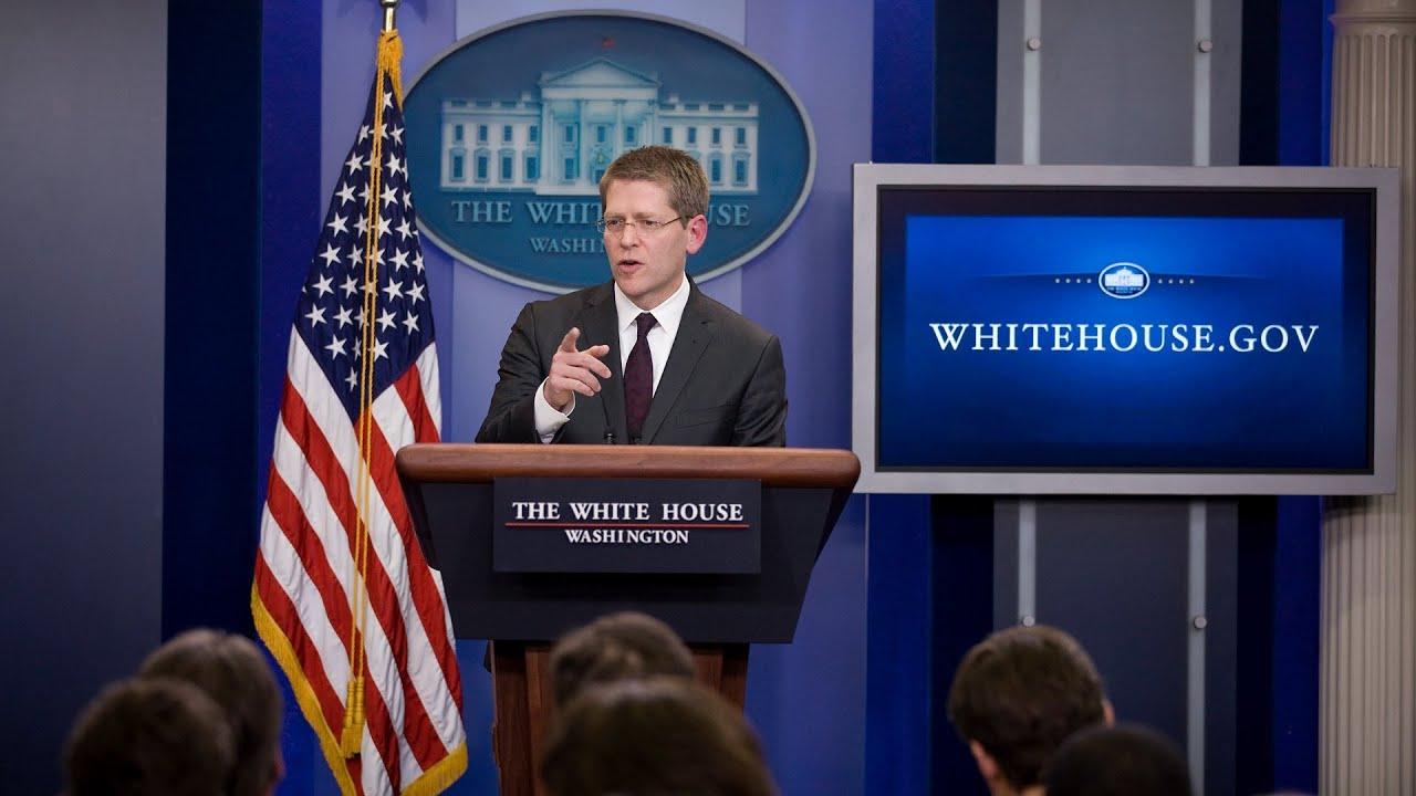 95e95f51d0c3 5/14/13: White House Press Briefing - YouTube