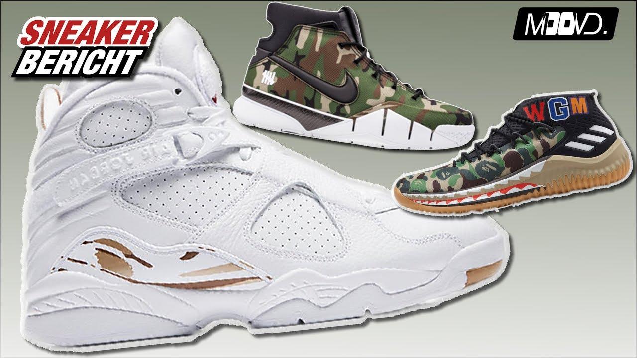 huge selection of 8825a af46c BAPE x Adidas Lillard 4 - AIR Jordan 8 OVO - Kobe 1 Undefeated -  Sneakerbericht