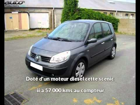 auto vip pr sente une renault scenic ii occasion angers youtube. Black Bedroom Furniture Sets. Home Design Ideas