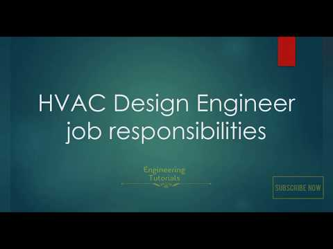 Job Roles And Responsibilities Of Hvac Design Engineer Youtube