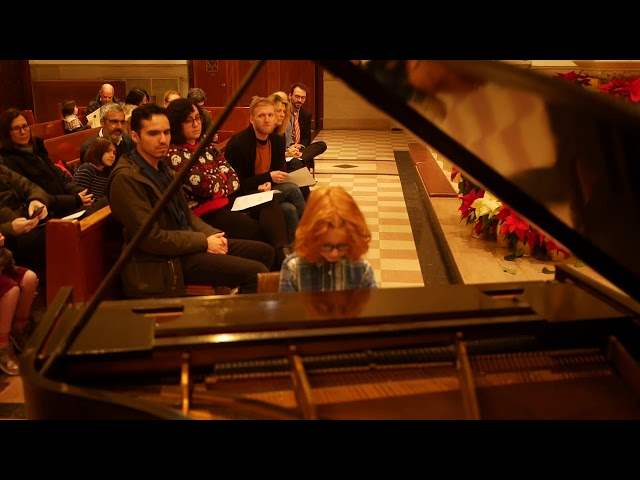 Wolf (5) performs Five Fat Turkeys Winter 2019 Recital