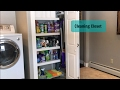 Home Organization | Cleaning Closet