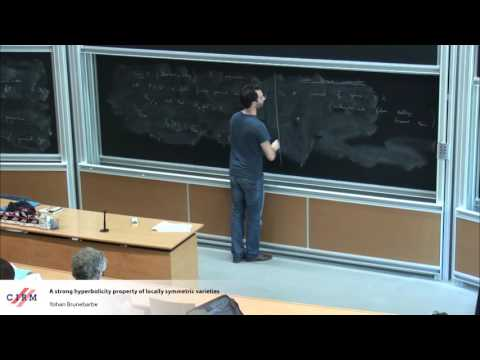 Yohan Brunebarbe: A strong hyperbolicity property of locally symmetric varieties