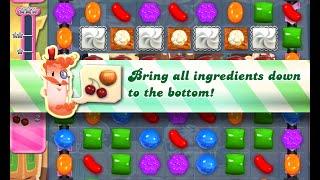 Candy Crush Saga Level 775 walkthrough (no boosters)