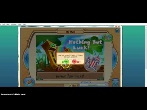 Mailtime W/ Squeaky141 (turn Down Valume And Mute It Plz) Animaljam