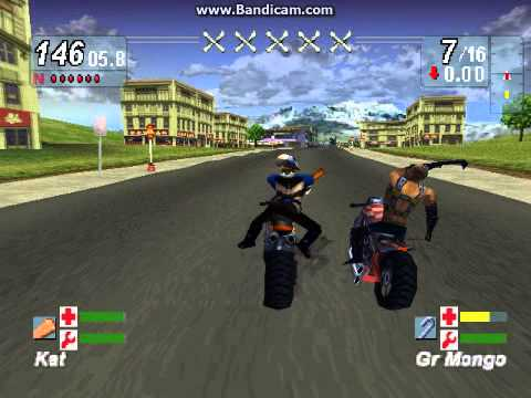 Road Rash Jailbreak Walktrought Race 1