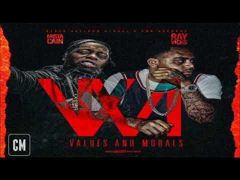 Ray Vicks & Mista Cain - Values And Morals [Full Mixtape] [2018]