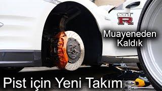Pist için Yeni Jant & Lastik   GT-R Muayene FAIL!   Japonic