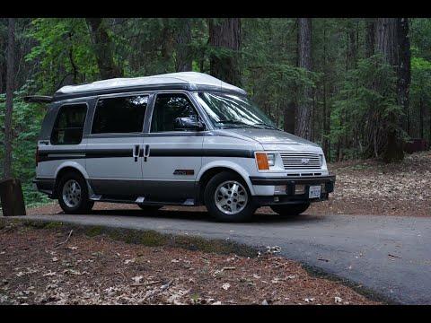 Chevy Astro Van: The perfect campervan for van life