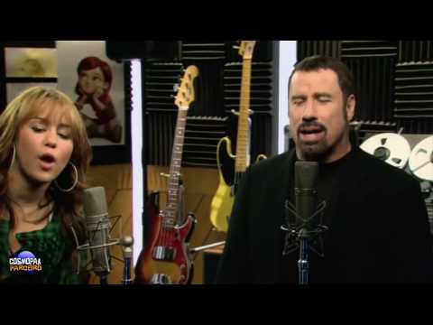 I Thought I Lost You - Miley Cyrus e John Travolta |CC - HD|