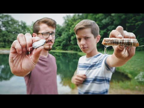 Lure Making Challenge/ Sticks And Rocks