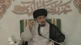 السيد منير الخباز- من الخطأ تعيين زكاة الفطرة بمبلغ معين وليست بدلا عن طعام