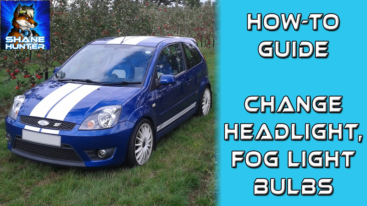 How To Change Headlight Front Fog Light Bulbs Post Facelift Youtube