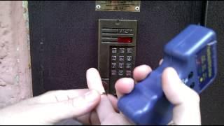 Запись ключа EM4100 брелка и визитной карточки, после ремонта