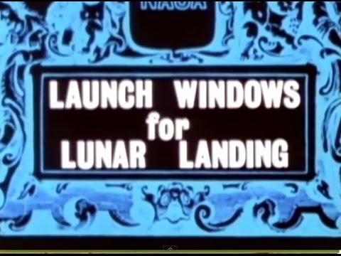NASA   APOLLO   Launch Windows For A Lunar Landing