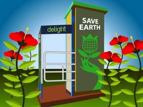 Delight e-toilet Animation