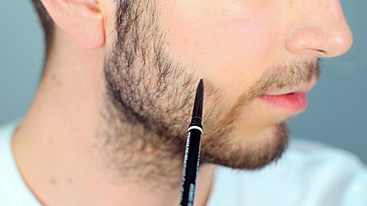 fill in sparse areas of your beard male makeup youtube