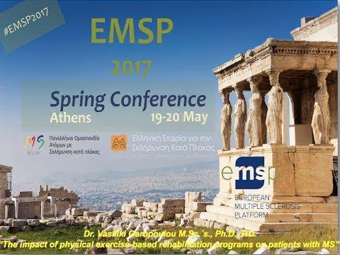 European Multiple Sclerosis Platform EMSP - Dr.Vasiliki Garopoulou M.Sc.΄s., PhD., P.D.