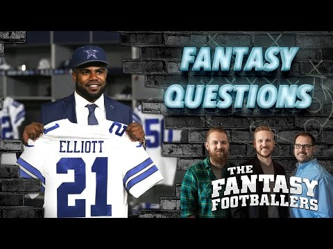 Fantasy Football 2016 - Fantasy Football Questions & Answers - Ep. #222