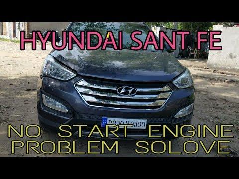 HYUNDAI SANT FE 2.2 CRDI ENGINE NO START WIRING PROBLEM