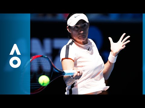 Carina Witthoeft v Caroline Garcia match highlights (1R) | Australian Open 2018