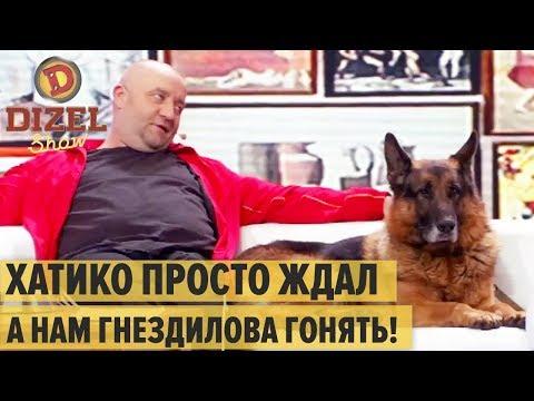 Собачий стриптиз, пиво и коньяк: Пес и его агент подписывают контракт – Дизель Шоу 2019 и ПЕС 5