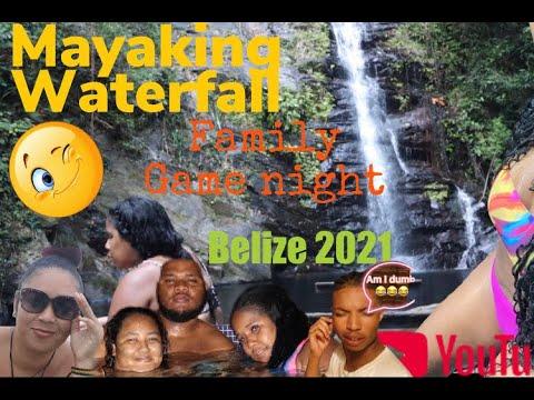 VLOG: BELIZE 2021+family night+ MAYANKING WATERFALL
