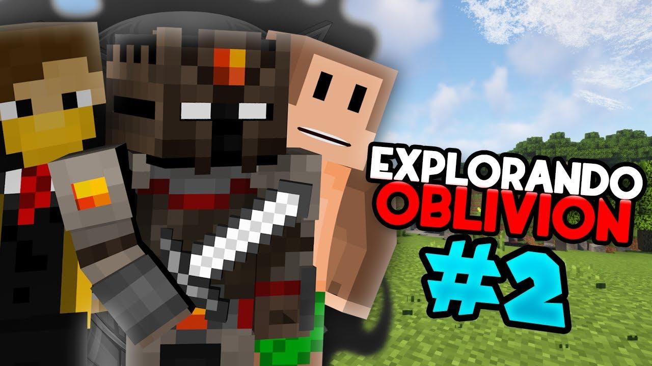 De EXPLORACION con los PIBES | OblivionSMP #2