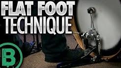Flat Foot Technique - Beginner Drum Lessons