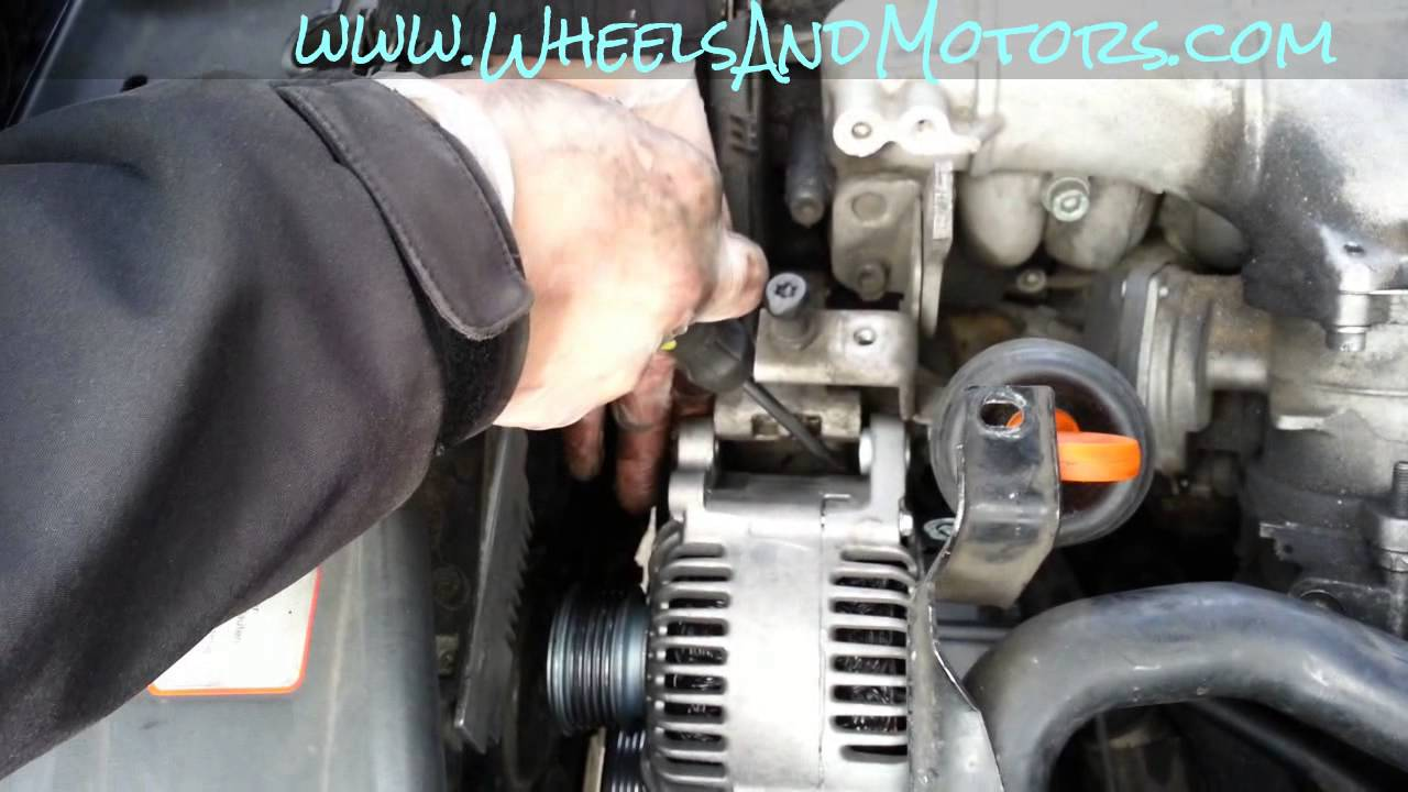 How to replace alternator on Audi A6 (C6 4F 20 TDI)  YouTube