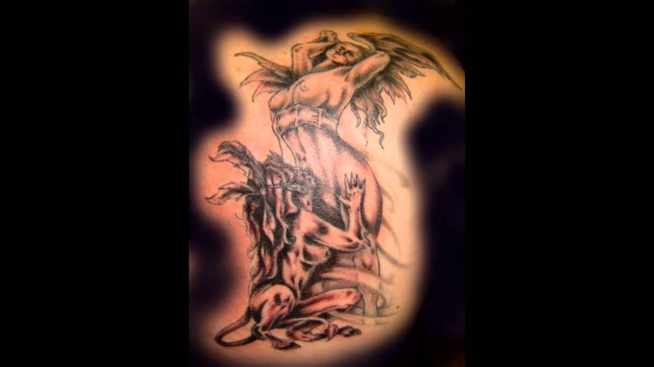 Angel And Demon Tattoo: Angels And Demons Tattoos