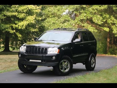 2007 jeep grand cherokee overland - youtube