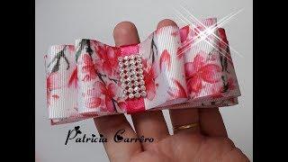 Laço chanel Primavera para customizar tiaras
