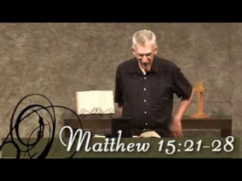What is the meaning of Matthew 15:21-28 in the Bible?