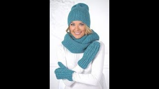 Модели Модных Шапок Спицами - 2019 / Models Fashion Hats Knitting