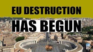 Mass Poverty, Unemployment, and Deflation as EU Destruction HAS BEGUN!