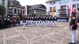 Parade der Junggesellen Fronleichnam 2012