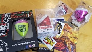 Giant Spin Top Unboxing. Spintastic and Trompos Cometa Spinning Top Unboxing