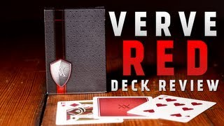 Deck Review - Red Verve Deck by The Blue Crown *** Special Review ***