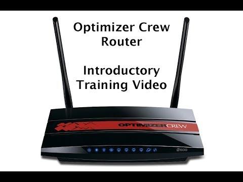 Optimizer Crew Satellite Wi-Fi Router Training
