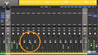 Logic Pro 202: Drummer and Drum Kit Designer - 21. Multi-Out